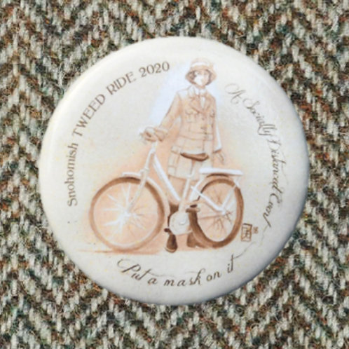 Snohomish Tweed Ride 2020 Button 1