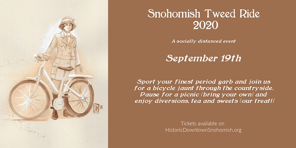 Snohomish Tweed Ride 2021