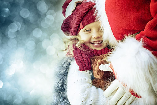 Happy little girl with Santa .jpg