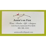 Annie's on First