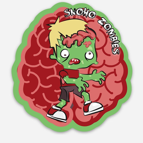 Snohomish Zombie Walk Sticker