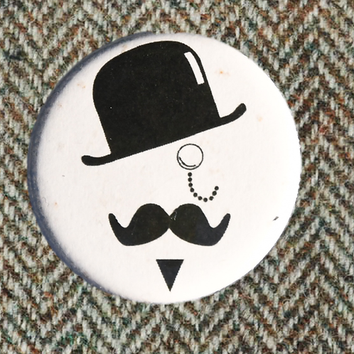 Snohomish Tweed Ride 2015 Button 2