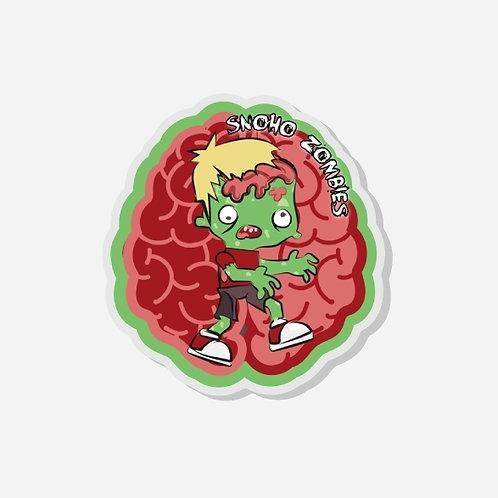 Snohomish Zombie Walk Acrylic Pin
