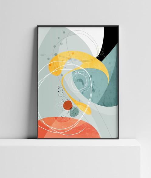Large Format Art Print Modern Abstract Nature Wall