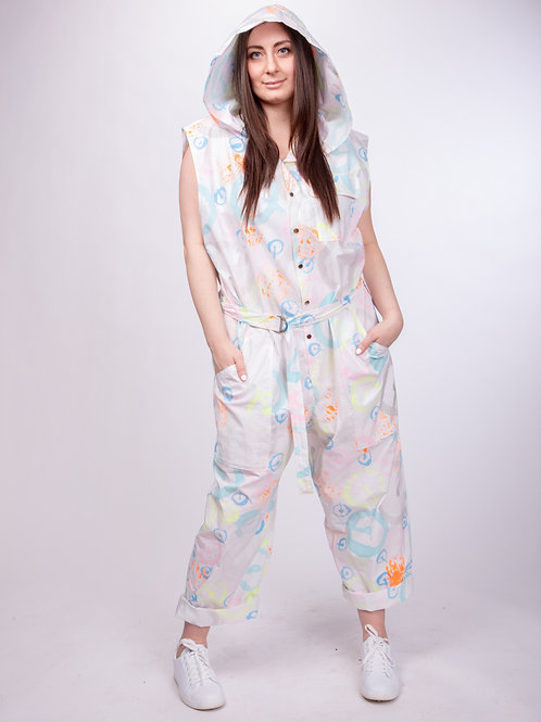 ONE Hand Painted Jumpsuit