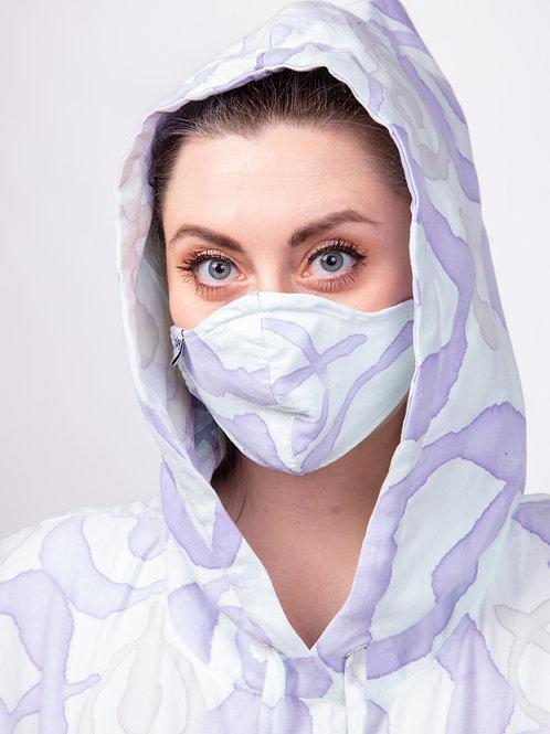 ONE Purple Cotton Face Mask