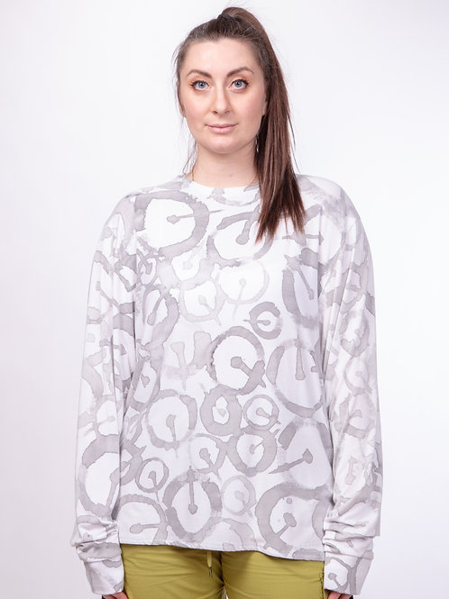 ONE Hand Painted Long Sleeve Top