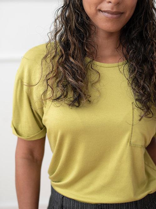Soft Brush Cotton T-Shirt