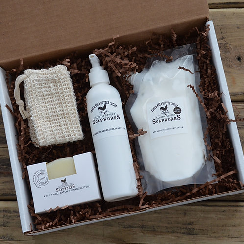 Soap and Lotion with Refill
