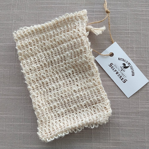 SOAP SAVER SCRUBBY - Natural Ramie