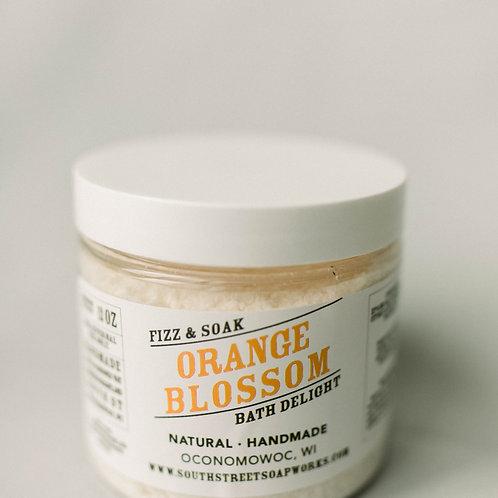 Orange Blossom Fizz & Soak Bath Delight Jar