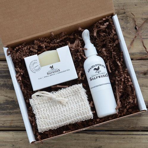 Soap & Lotion Gift Box