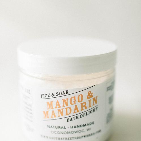 Mango & Mandarin Fizz & Soak Bath Delight Jar