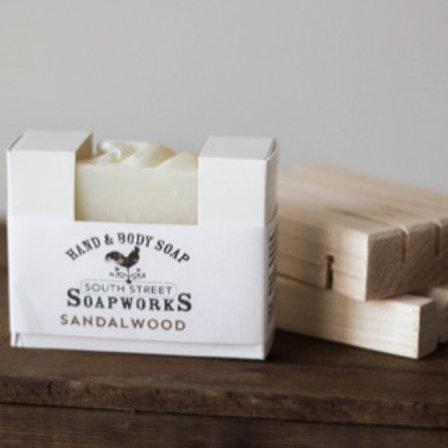 Sandalwood Hand & Body Soap