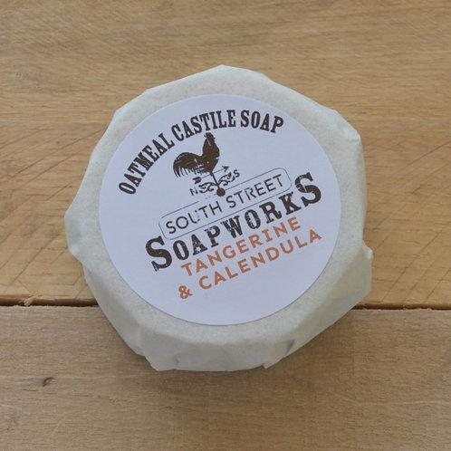 Tangerine & Calendula Oatmeal Face Soap