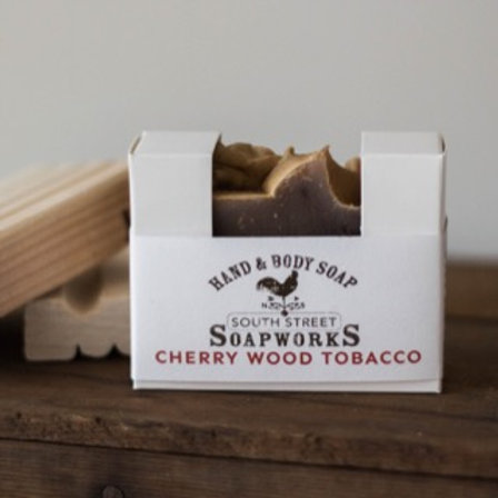 Cherry Wood Tobacco Hand & Body Soap