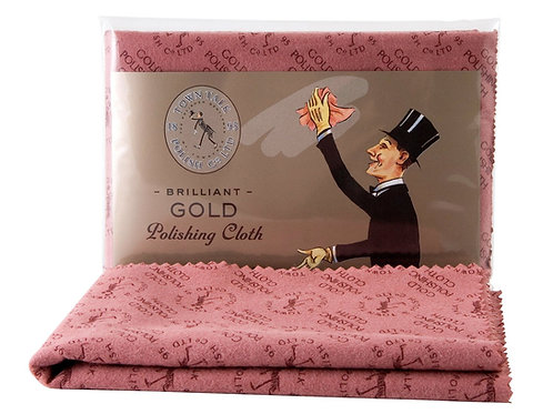 Gold Polishing Cloth. Town Talk Gold Polishing Cloth.