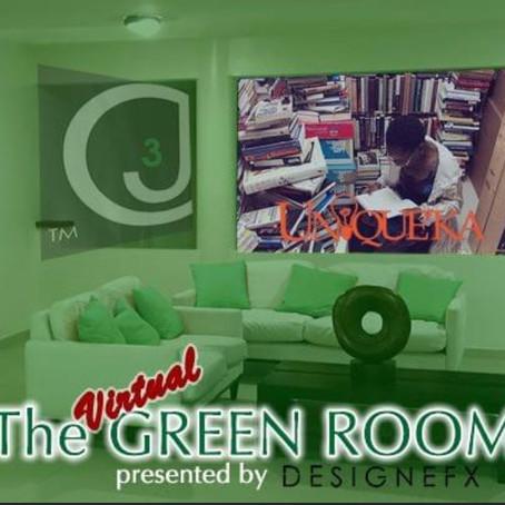 UNIQUE'KA visits The Virtual Green Room