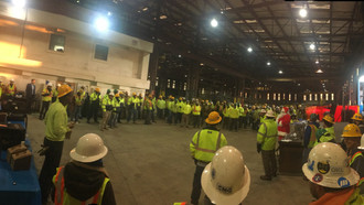 Last safety meeting of the year.