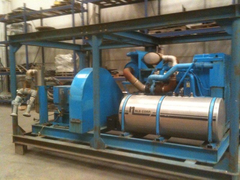 NLB high Pressure Water Blaster | Precon Marine Inc