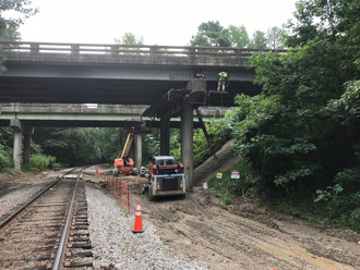 Work continues at our VDOT project in Richmond.