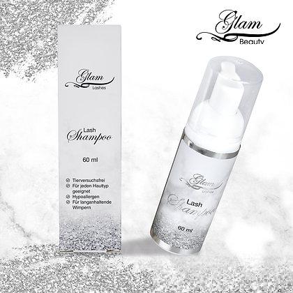 GLAM Lash-Shampoo+Bürste