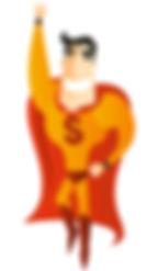 Super Sure Super Hero Wellington Life Insurance Agent