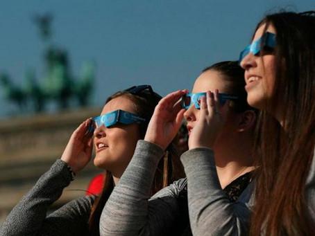 Prevención para el Eclipse Solar