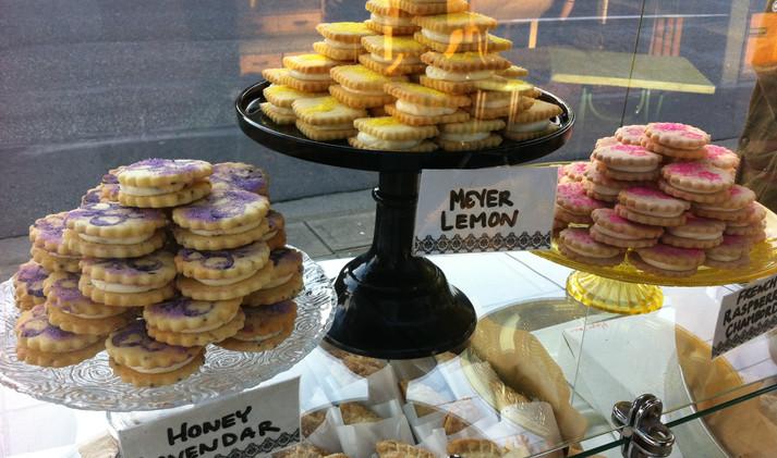Sweet Little Cream Cookies