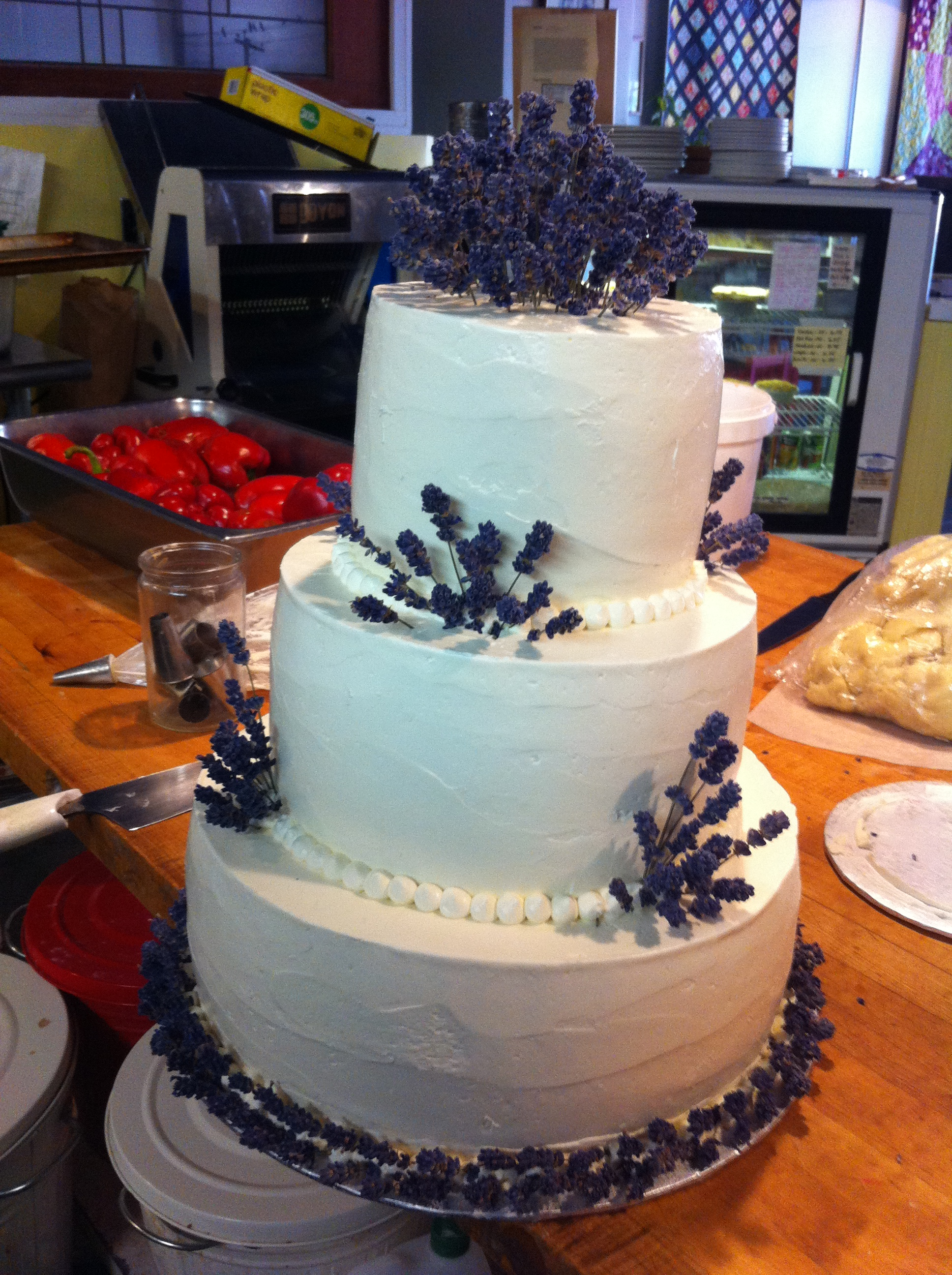 Lush Lavender Tiers