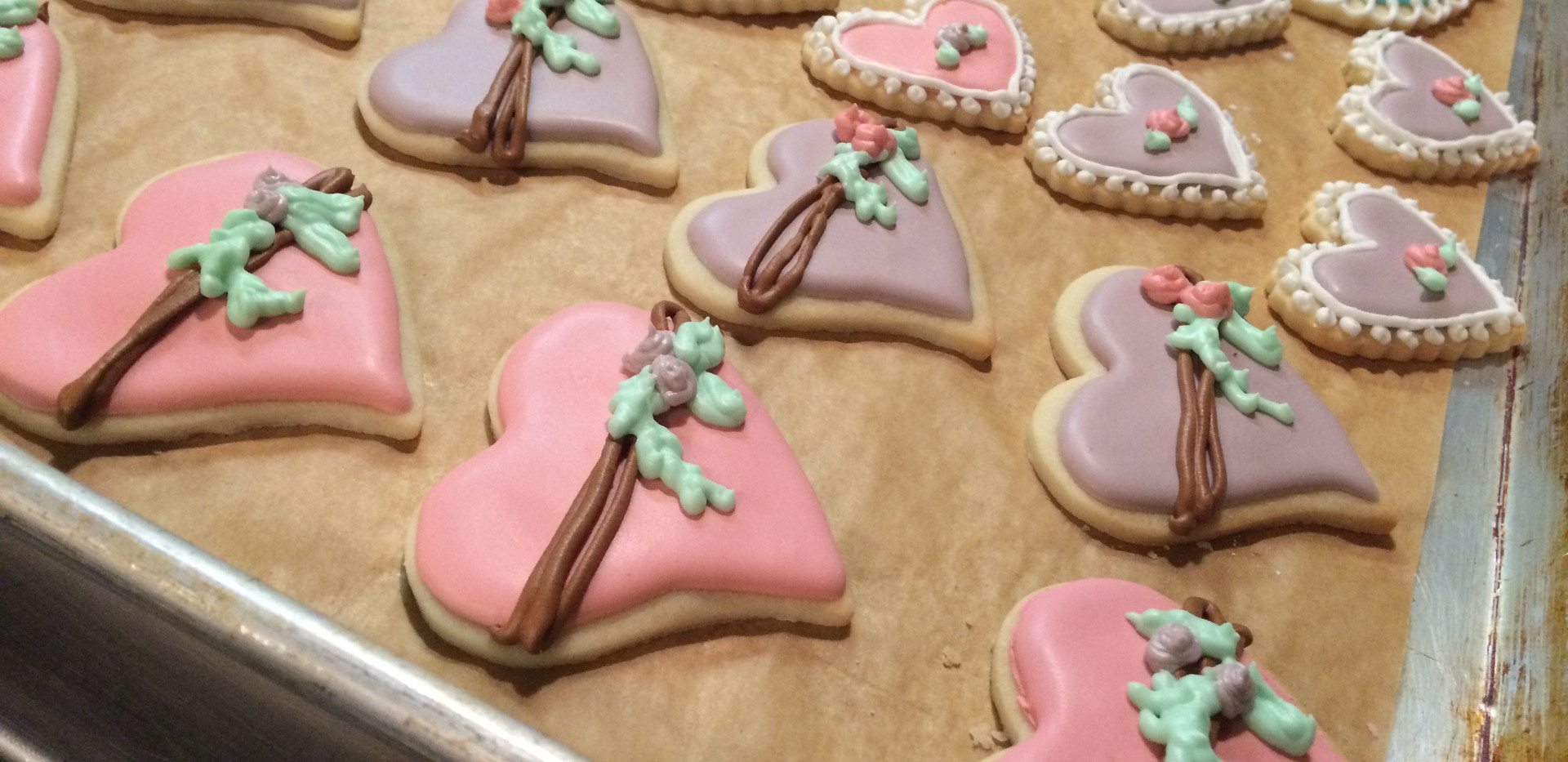 Hand Decorated Shortbread Cookies