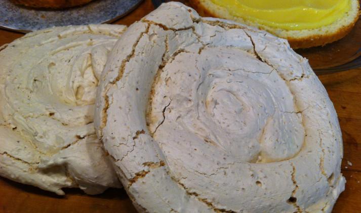 Crunchy Hazelnut Dacquoise