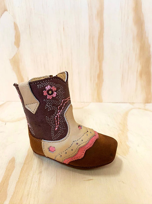 Pathe baby leather boots
