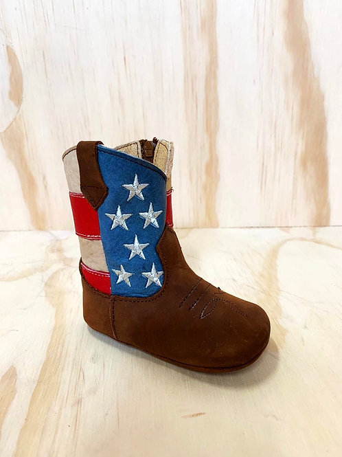 🇺🇸 baby leather boots