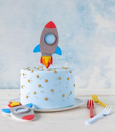 Weltraum-Torte