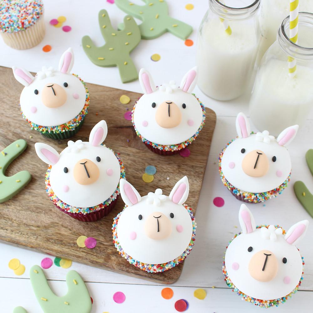Alpaca Cupcakes