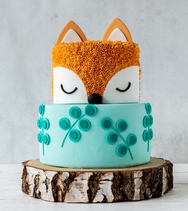 My Fox Cake is the Cover of my 2nd Book, Photo made by https://emmaslieblingsstuecke.com/