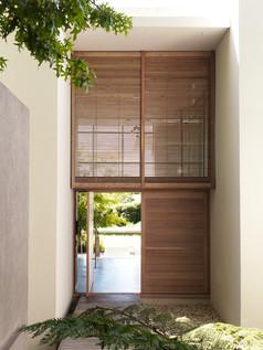 Puerta de madera