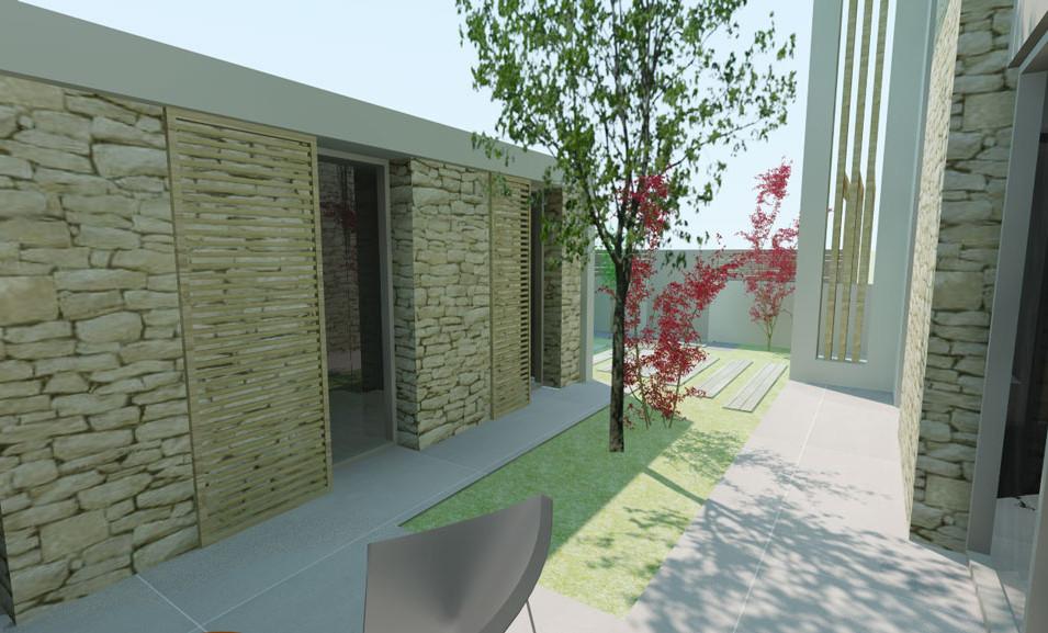 LOGEMENT INDIVIDUEL / MAISON INDIVIDUELLE / HAUSELMANN ARCHITECTURE / ARCHITECTE MEDOC / PARTICULIER / ARCHITECTURE CONTEMPORAINE / VILLA / PISCINE