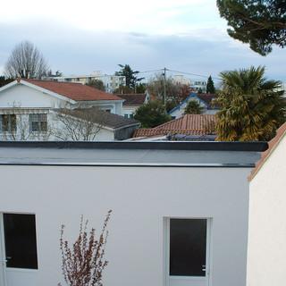 CONSTRUCTION NEUVE / ATELIER / HAUSELMANN ARCHITECTURE / ARCHITECTE CENON / PERMIS DE CONSTRUIRE