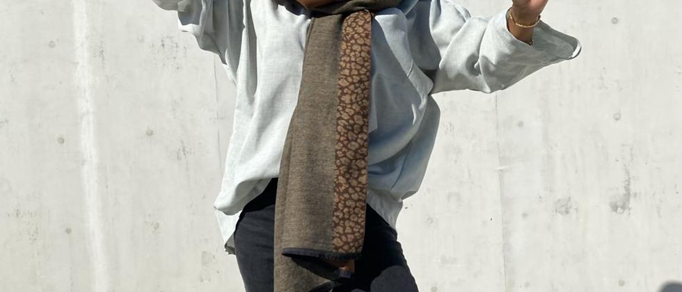 Yve Cheetah Scarf