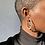 Thumbnail: Pearled Hoop Earring
