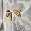 Thumbnail: Gold Leaf Earring