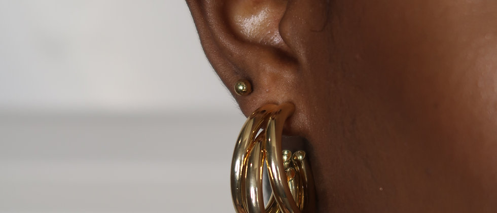 Multi-Hoop Earing