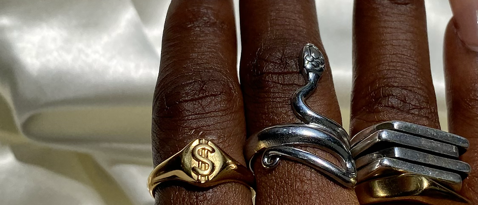 Money Sign Ring