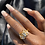 Thumbnail: Butterfly Multi-Metal Ring