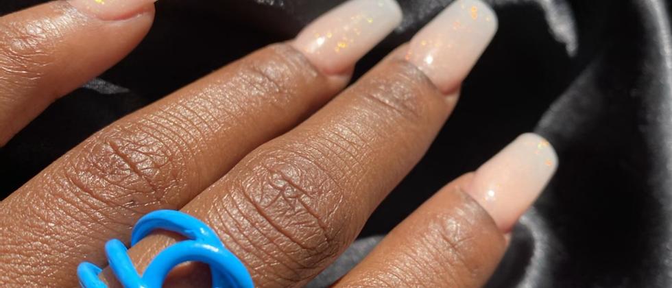 Blue Ojo Ring