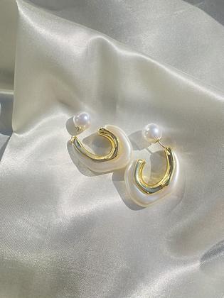 Pearl Backing Earring