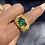 Thumbnail: Emerald Claw Fashion Ring