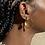 Thumbnail: Two Tone Droplet Earring